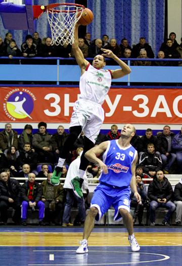 Баскетбольная неделя на Украине получилась плодотворной