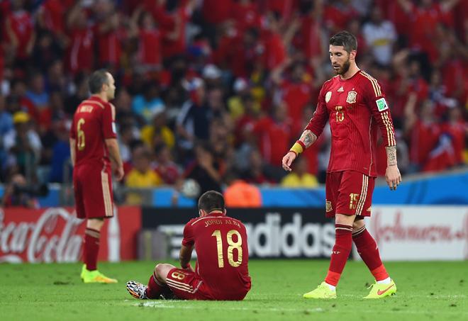 Провал сборной Испании на групповом турнире