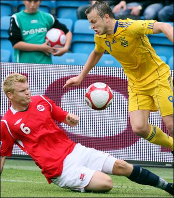 Украина – Норвегия: пока 3:0