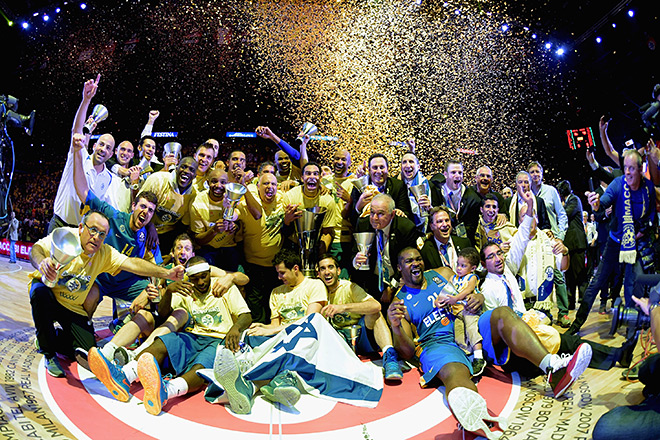 «Маккаби» — чемпион Евролиги сезона 2013/2014