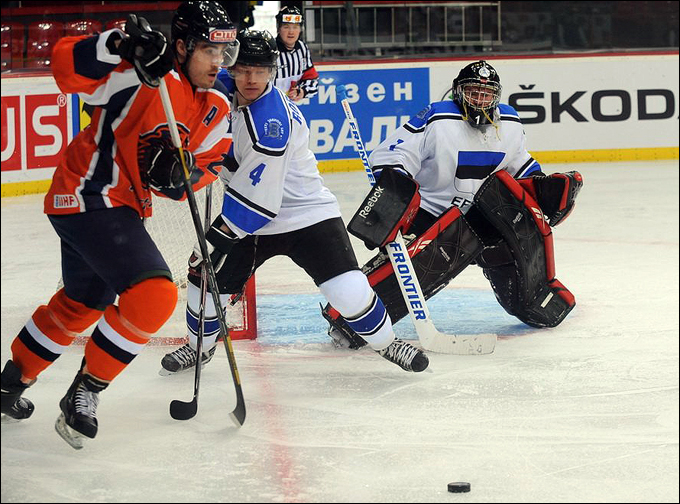 14 апреля 2012 года. Чемпионат мира. Донецк. Нидерланды – Эстония – 5:4