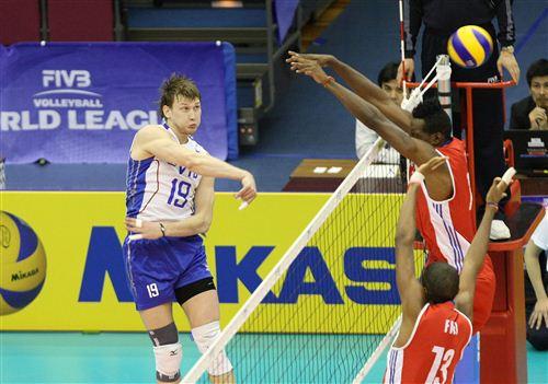 Алексей Родичев в матче с Кубой набрал восемь очков