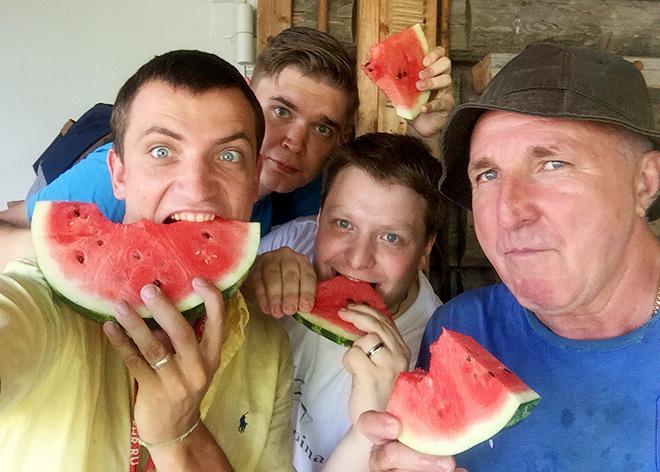 """Александр Побегалов с журналистами """"Чемпионата"""""""