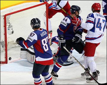 12 мая 2013 года. Хельсинки. Чемпионат мира. Групповой этап. Словакия — Россия — 1:3. Не злите Радулова! Только хуже будет…