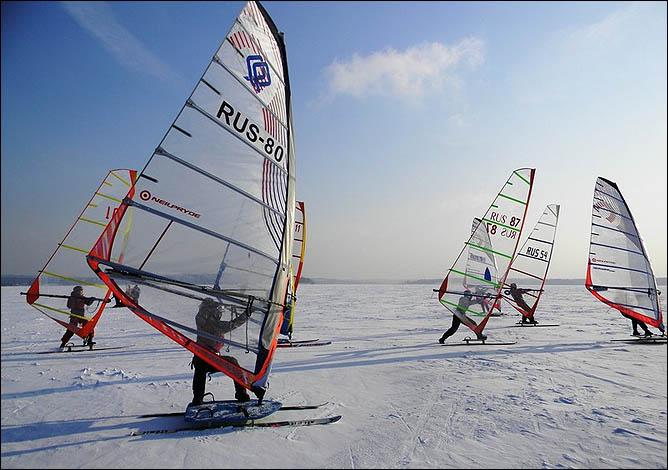 Чемпионат России по зимнему виндсёрфингу