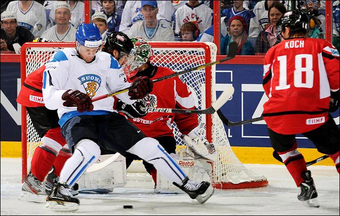 11 мая 2013 года. Хельсинки. Чемпионат мира. Групповой этап. Финляндия — Австрия — 7:2