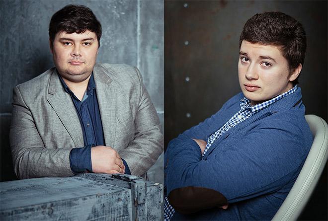 Александр Служаков и Леонид Волотко