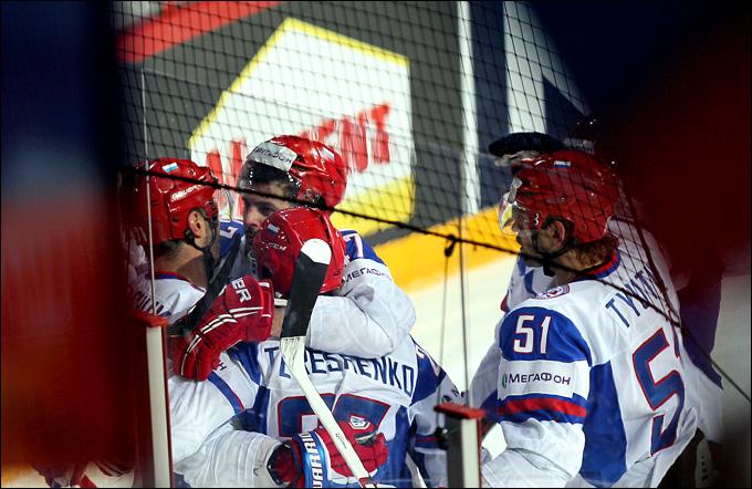 12 мая 2013 года. Хельсинки. Чемпионат мира. Групповой этап. Словакия — Россия — 1:3. Россия в выстраданном четвертьфинале!