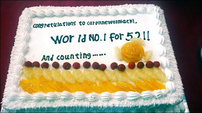 WTA отметила годовщину Каролины на вершине