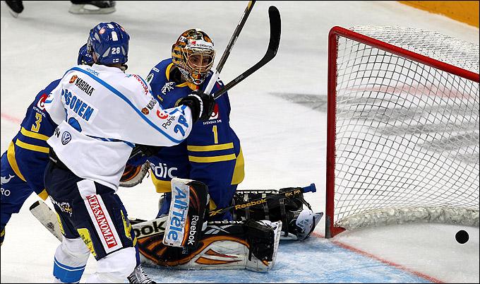 18 декабря 2011 года. Москва. Мегаспорт. Кубок Первого канала. Швеция – Финляндия – 3:4