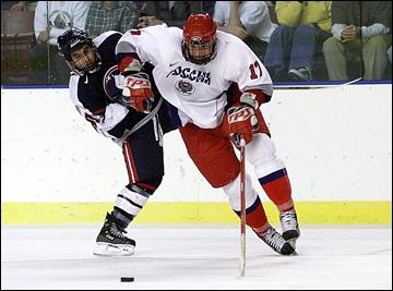 Илья Ковальчук в юниорской сборной России, 2000 год