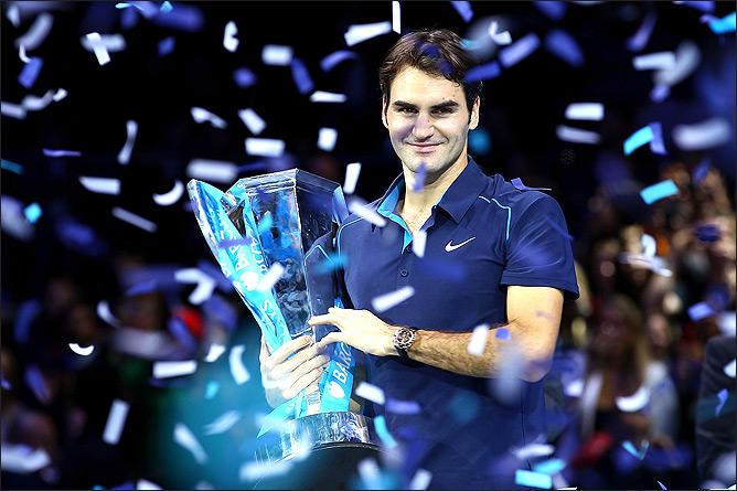 Шестой триумф Роджера Федерера на Итоговом турнире.