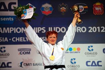Российская дзюдоистка Елена Иващенко