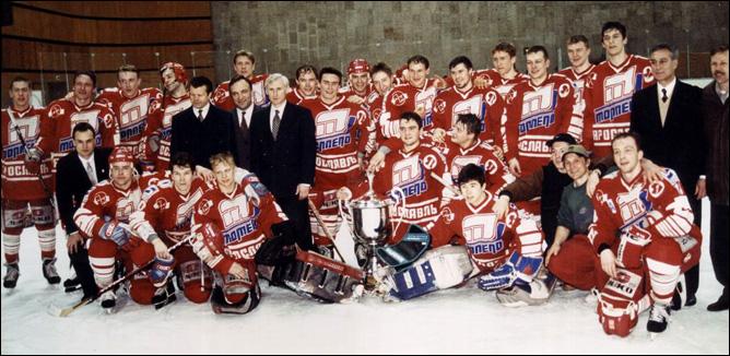 Первое чемпионство Ярославля