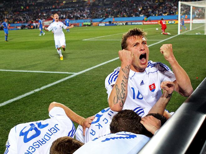 24 июня 2010 года сборная Словакии одержала одну из самых выдающихся побед в своей истории