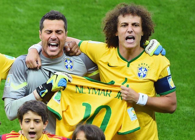 Футболисты сборной Бразилии дали обещание сыграть за себя и за Неймара
