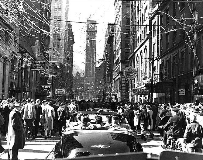История Кубка Стэнли. Часть 56. 1947-1948. Парад в Торонто.