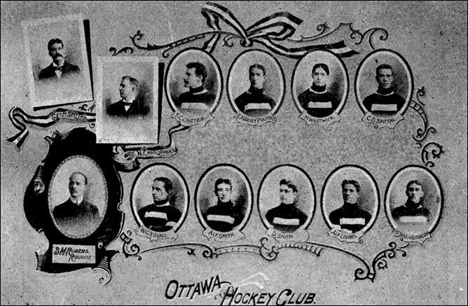 История Кубка Стэнли. Сезон 1896/97. ХК Оттава.