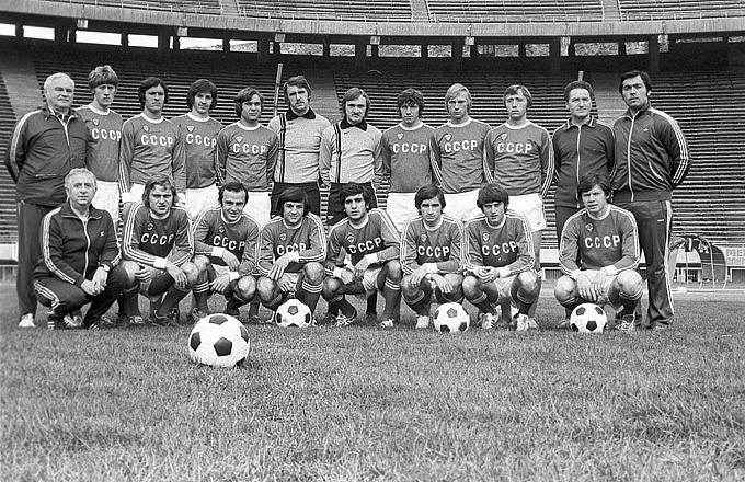 Молодёжная сборная СССР 1980 года — перед четвертьфинальным матчем с Италией