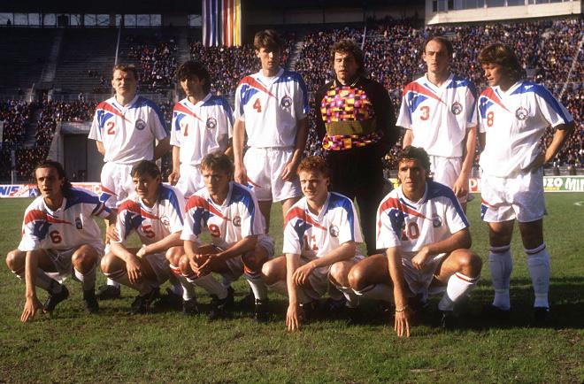 Сборная России. 1993 год
