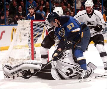 """2 мая 2013 года. Сент-Луис. Плей-офф НХЛ. 1/8 финала. Матч № 2. """"Сент-Луис"""" — """"Лос-Анджелес"""" — 2:1"""