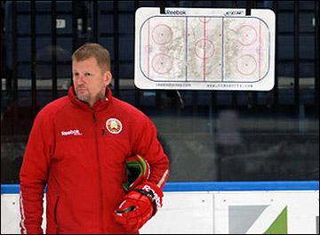 Главный тренер сборной Белоруссии Кари Хейккиля