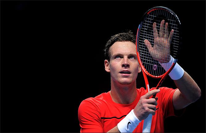 Томаш Бердых впервые вышел в плей-офф Итогового турнира ATP.
