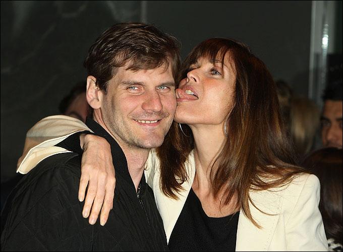 Алексей Яшин и его супруга Кэрол Альт