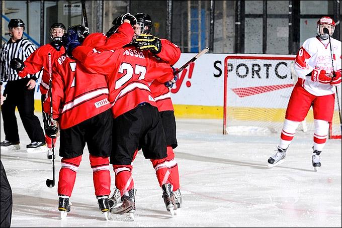 20 апреля 2012 года. Зноймо. Юниорский чемпионат мира. Утешительный турнир. Швеция — Дания — 2:1