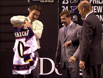 Драфт новичков НХЛ, 2001 год. Первый русский хоккеист стал первым номером на драфте