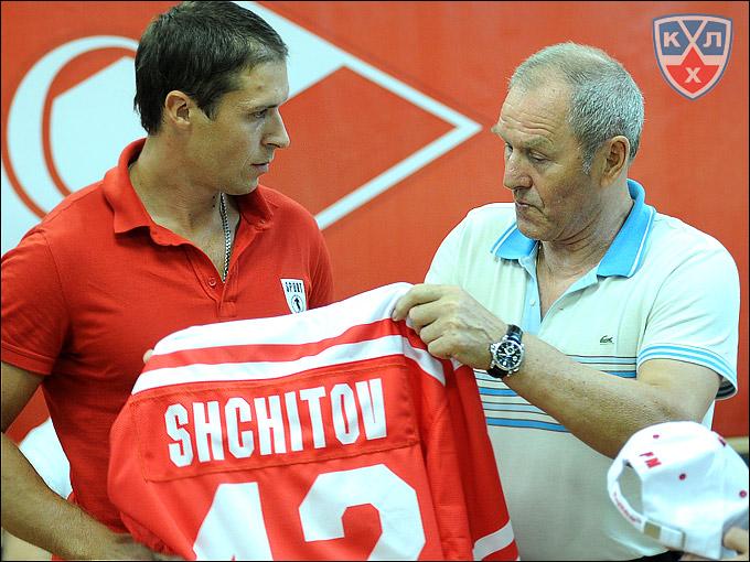 Никита Щитов и Вячеслав Старшинов