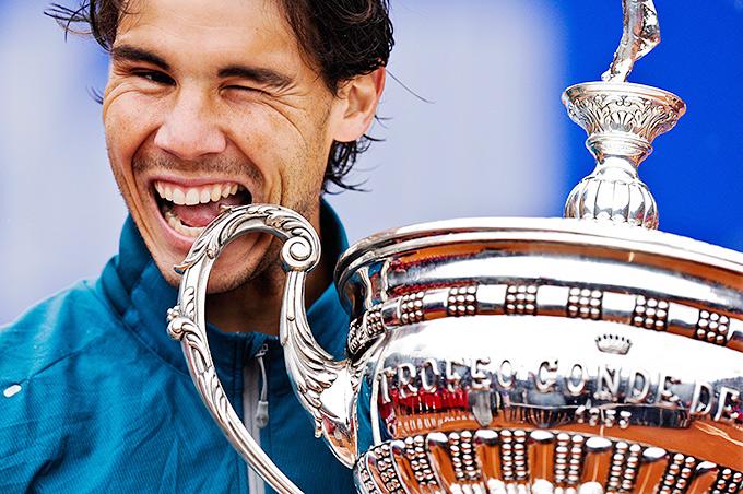 Рафаэль Надаль с 2005 года завоевал в Барселоне рекордные 8 титулов