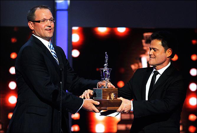 Дэн Байлсма (слева) — лучший тренер сезона в НХЛ!