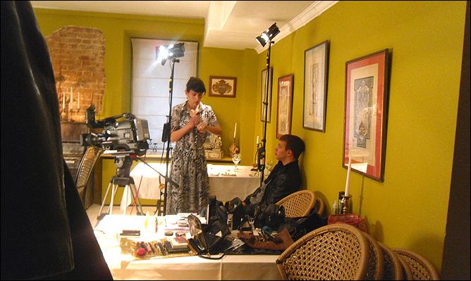 """10 октября 2011 года. Москва. """"Кухня"""" с Еленой Дементьевой"""