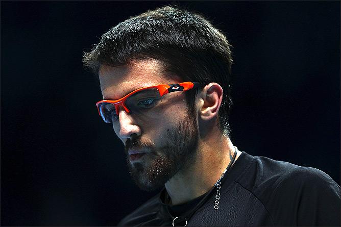 Типсаревич стал 9-м в истории теннисистом, вышедшим на замену на Итоговом турнире ATP.
