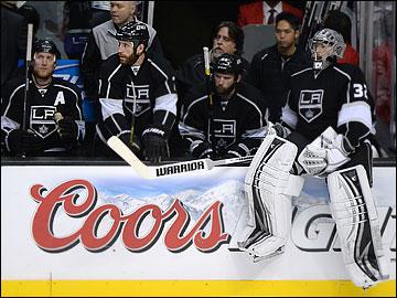 """7 июня 2013 года. """"Лос-Анджелес"""" — """"Чикаго"""". Плей-офф НХЛ. 1/2 финала. Матч № 4. """"Лос-Анджелес"""" — """"Чикаго"""" — 2:3."""