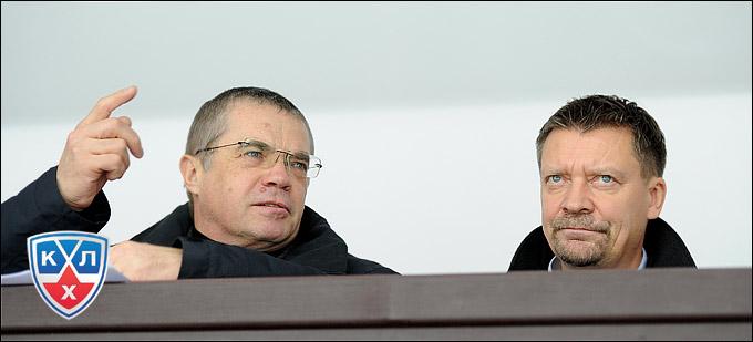 Александр Медведев и Юкка Ялонен