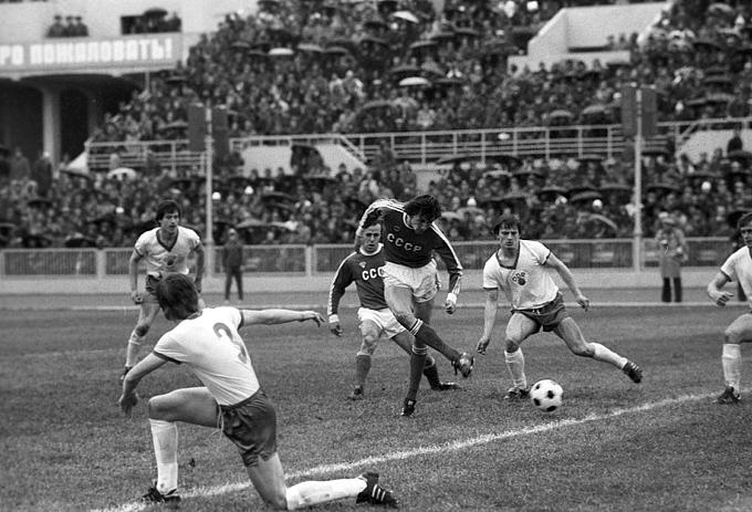 Победный гол Юрия Суслопарова в финальном матче молодёжного чемпионата Европы 1980 года