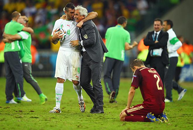 Радость сборной Алжира на фоне очередного фиаско россиян