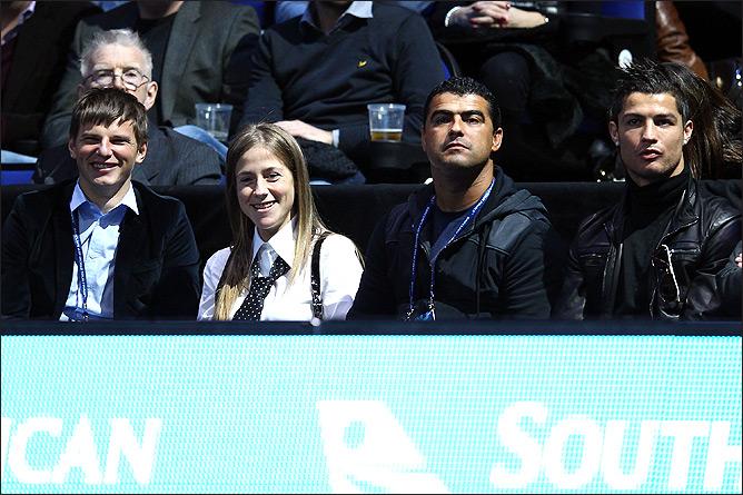 Андрей Аршавин и Криштиану Роналду на финальном матче.