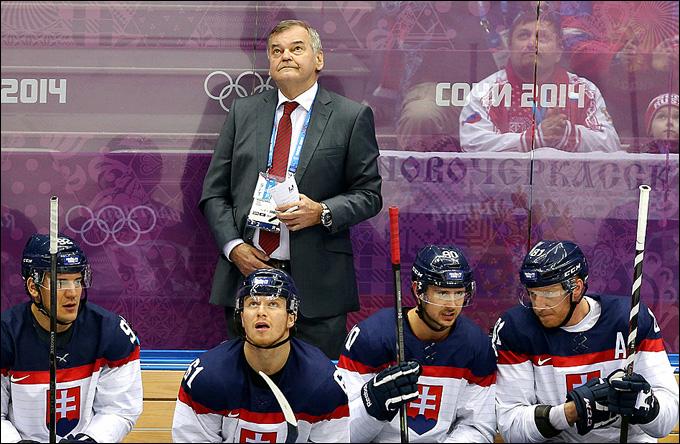 Владимир Вуйтек в матче с Россией