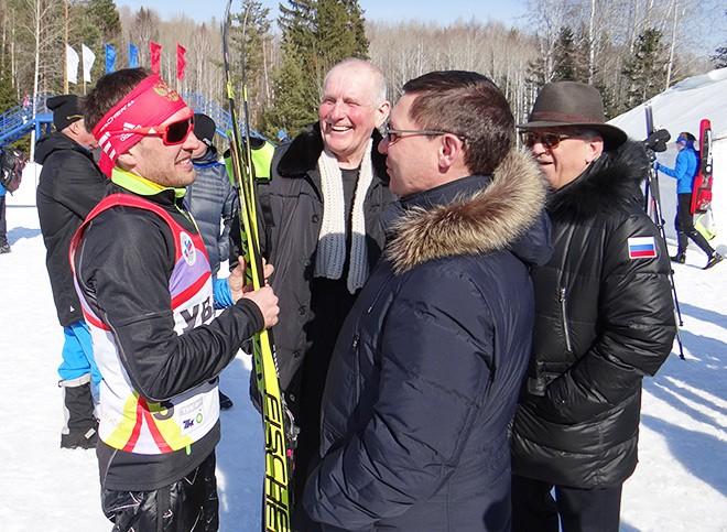 Евгений Гараничев с губернатором Владимиром Якушевым