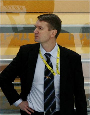 Главный тренер сборной Финляндии Эркка Вестерлунд