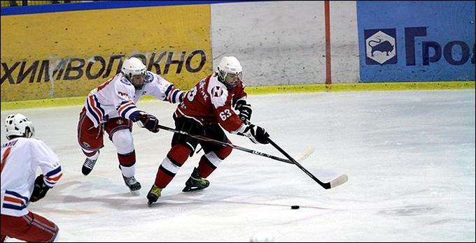 В атаке Дмитрий Амброжейчик