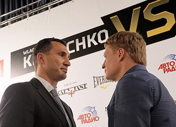 Владимир Кличко и Александр Поветкин будут драться 5 октября