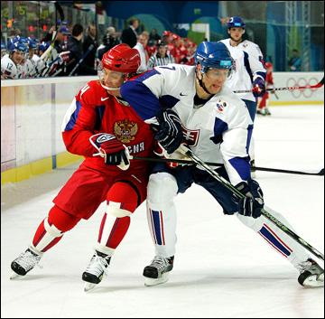 15 февраля 2006 года. Турин. Россия — Словакия. Александр Королюк против Мартина Штрбака