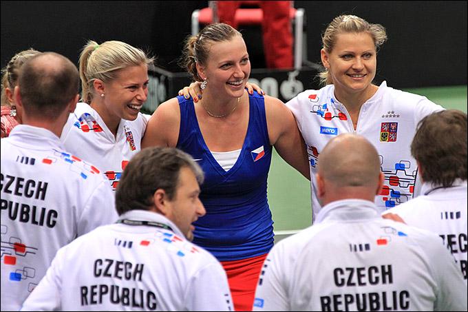 Квитова добыла два очка для Чехии