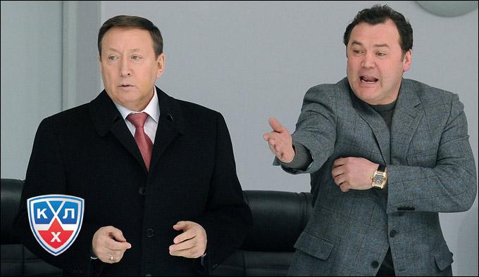 Рафик Якубов (справа)
