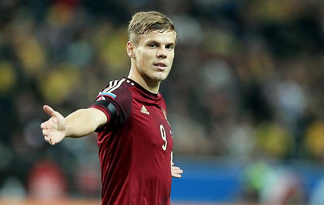Александр Кокорин открывает счёт в матче