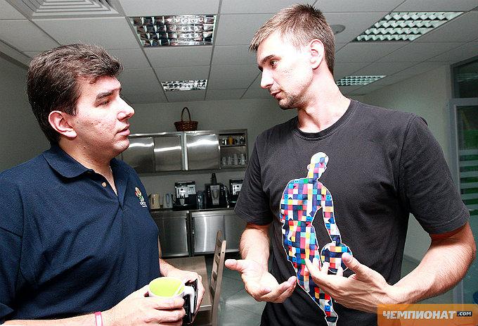 Лев Савари и Валерий Лиходей